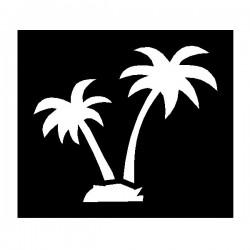 Brushing Palm Trees