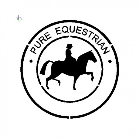 Paint Pure Equestrian Logo
