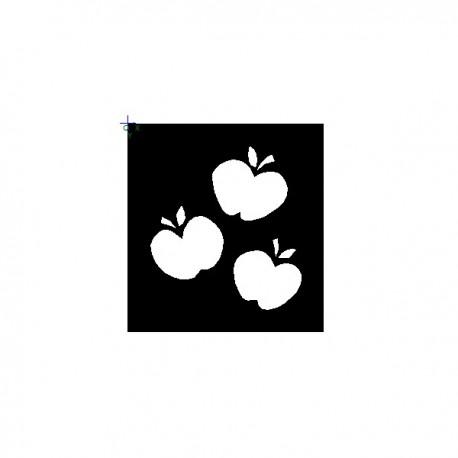 Paint Three Apples