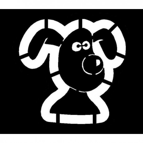 Clipping Gromit