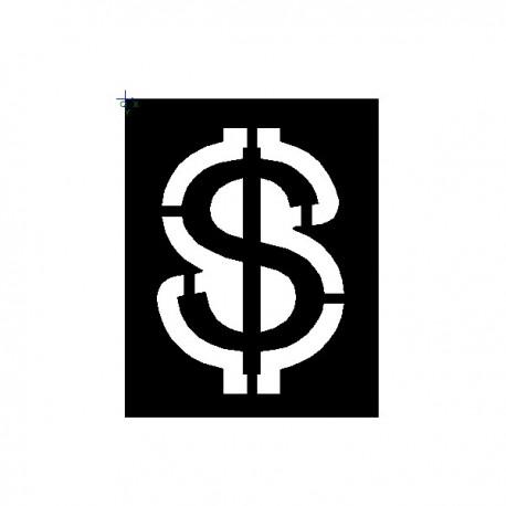 Clipping Dollar Sign
