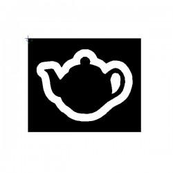 Clipping Tea Pot