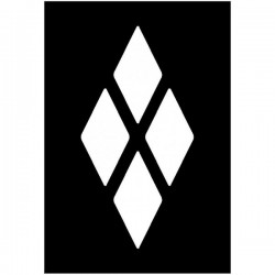 Brushing Split Diamond