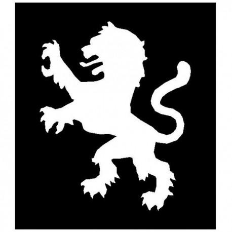 Brushing Lion