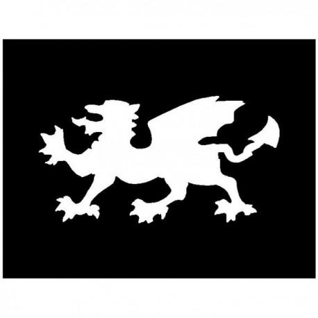 Brushing Welsh Dragon