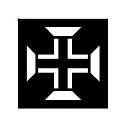 Brushing Portuguese Cross