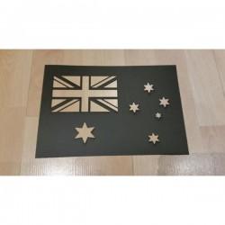 Brushing Australian Flag