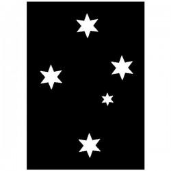 Brushing Australian Constellation